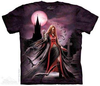 koszulka THE MOUNTAIN - BLOOD MOON GOTHIC, barwiona