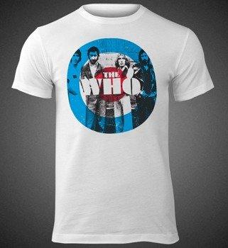 koszulka THE WHO - TARGET WHITE