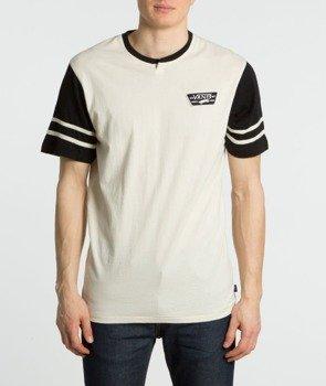 koszulka VANS - CHESTER VINTAGE WHITE BLACK