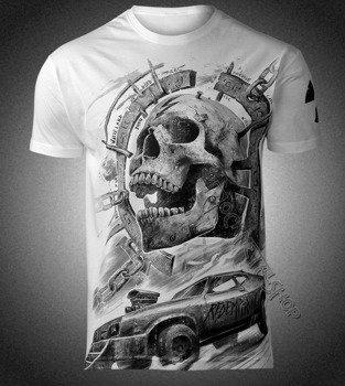 koszulka WASTELAND, biała