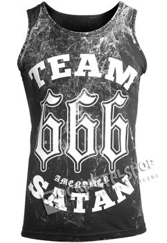 koszulka na ramiączkach AMENOMEN - TEAM SATAN (OMEN082KR ALLPRINT WHITE)