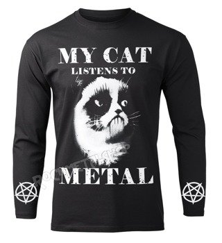 longsleeve AMENOMEN - MY CAT LISTENS TO METAL (OMEN077LO)