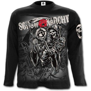 longsleeve SONS OF ANARCHY - REAPER MONTAGE