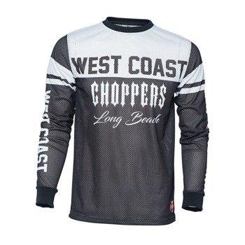 longsleeve WEST COAST CHOPPERS - CROSS, white