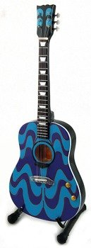 "miniaturka gitary THE BEATLES - JOHN LENNON: J-160 ACOUSTIC ""The Psychedelic"""