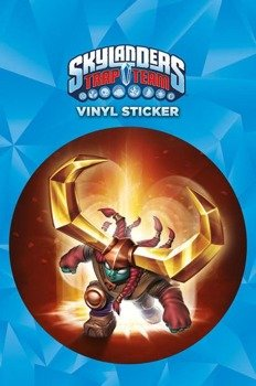 naklejka SKYLANDERS TRAP TEAM - HEADRUSH
