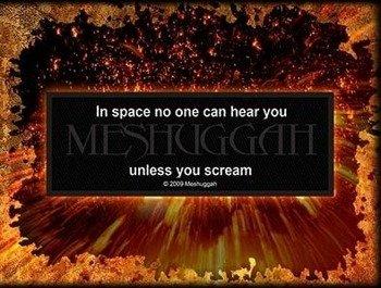 naszywka MESHUGGAH