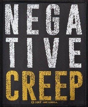 naszywka NIRVANA - NEGATIVE CREEP