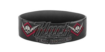 opaska BLACK VEIL BRIDES - HIGH VOLTAGE, silikonowa