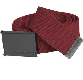 pas parciany CANVAS BELTS burgundy
