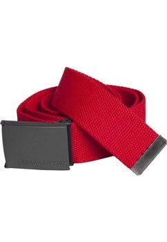 pas parciany CANVAS BELTS red