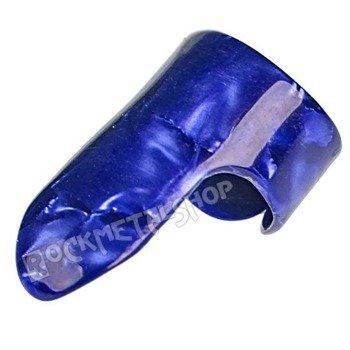 pazurek na palec średni BOSTON TORTOISE / BLUE