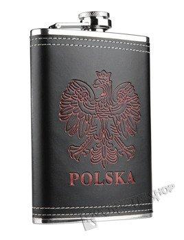 piersiówka czarna POLSKA (240ml)