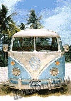 plakat 3D VW CALIFORNIAN CAMPER