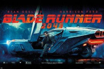 plakat BLADE RUNNER 2049 - FLYING CAR