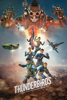 plakat THUNDERBIRDS ARE GO - COLLAGE