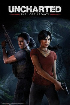 plakat UNCHARTED THE LOST LEGACY - COVER