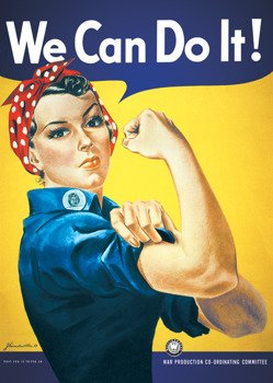 plakat WE CAN DO IT