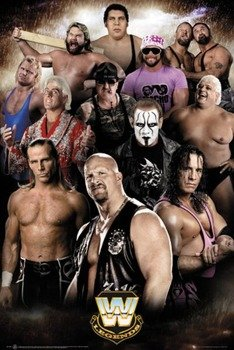 plakat WWE - LEGENDS