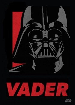 plakat z metalu STAR WARS - DARTH VADER