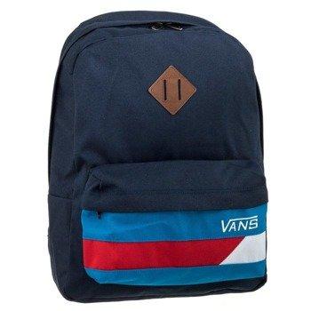plecak VANS - OLD SKOOL II BACKPACK DRESS BLUES-RACING RED