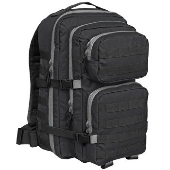 plecak taktyczny US COOPER 2-COLOR black-grey, 40 litrów