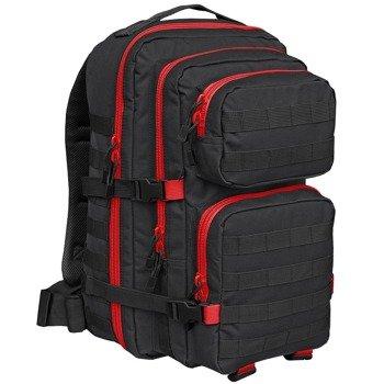 plecak taktyczny US COOPER 2-COLOR black-red, 40 litrów