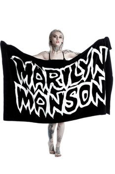 ręcznik kąpielowy KILL STAR - MARILYN MANSON, AVOID THE SUN