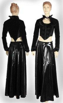 spódnica NINA BLACK PVC [GT105] Laughing Vampire