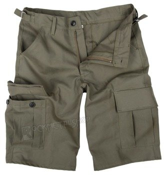 spodnie bojówki krótkie CARGO 1/2 khaki