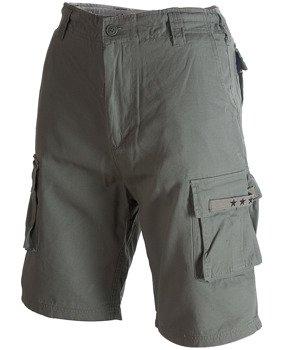 spodnie bojówki krótkie SURPLUS STARS BERMUDA olive light
