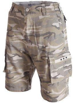 spodnie bojówki krótkie SURPLUS STARS BERMUDA woodland