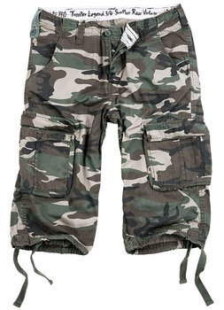 spodnie bojówki krótkie TROOPER LEGEND 3/4 - WOODLAND