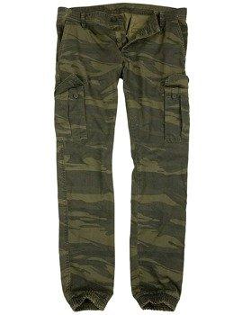 spodnie joggery BAD BOYS PANTS - GREEN CAMO