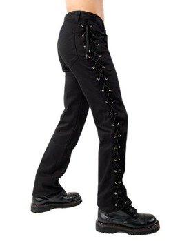 spodnie unisex LOOP JEANS DENIM czarne