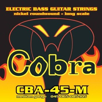 struny do gitary basowej COBRA CBA-45-M NICKEL ROUNDWOUND /045-105/