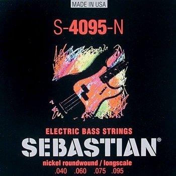 struny do gitary basowej SEBASTIAN S-4095-N NICKEL WOUND /040-095/