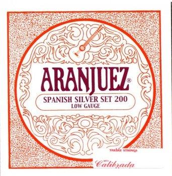 struny do gitary klasycznej ARANJUEZ A200 Spanish Silver - Low Gauge