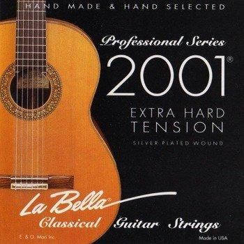 struny do gitary klasycznej LA BELLA 2001 Extra Hard Tension