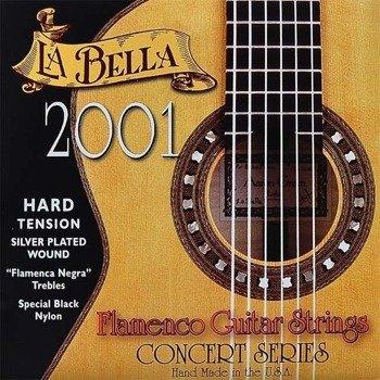struny do gitary klasycznej LA BELLA Flamenco 2001 Hard Tension