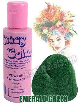 toner do włosów CRAZY COLOR - EMERALD GREEN