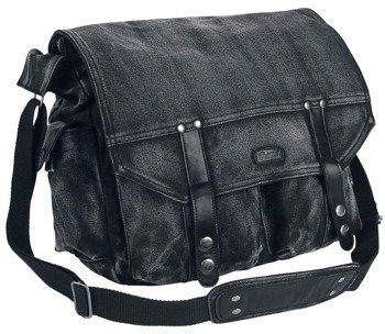 torba na ramię HINSDALE VINTAGE BAG, czarna