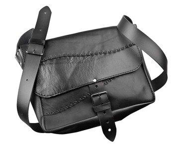 torba skórzana PURE BLACK