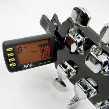 tuner + chord finder AROMA ATC-10 uniwersalny, na klips