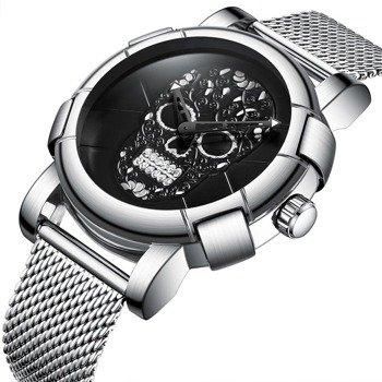 zegarek BLACK SKULL SILVER