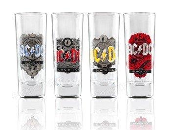 zestaw kieliszków AC/DC - BLACK ICE