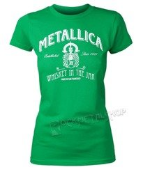 bluzka damska METALLICA - GREEN WHISKEY IN THE JAR