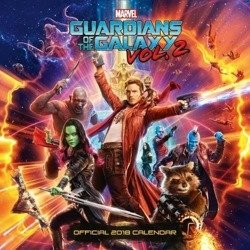 kalendarz GUARDIANS OF THE GALAXY VOL. 2 2018