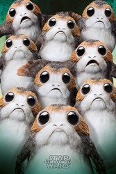 plakat STAR WARS - MANY PORGS