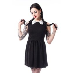 sukienka CHEMICAL BLACK - LINN